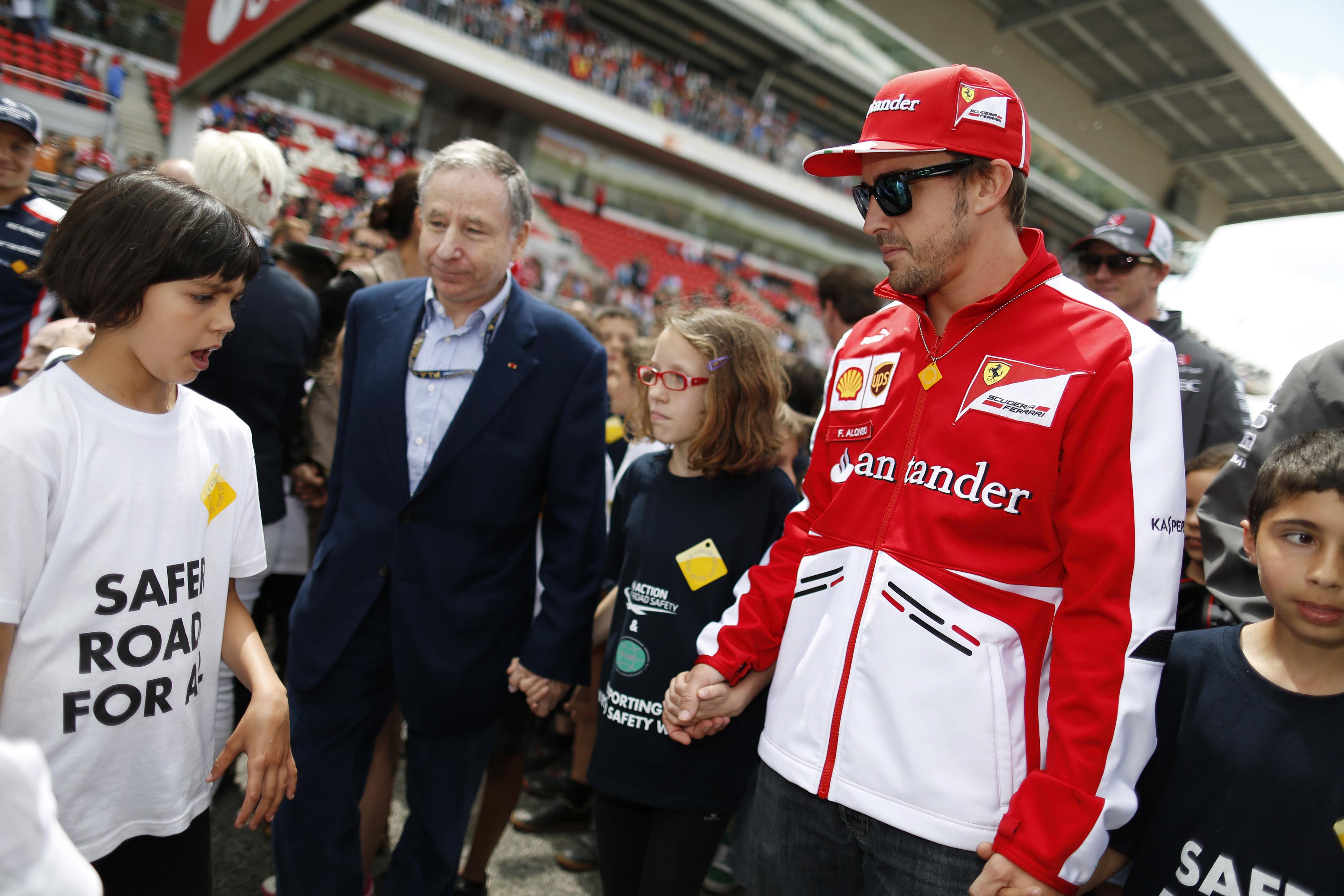FIA and F1 Long Short Walk