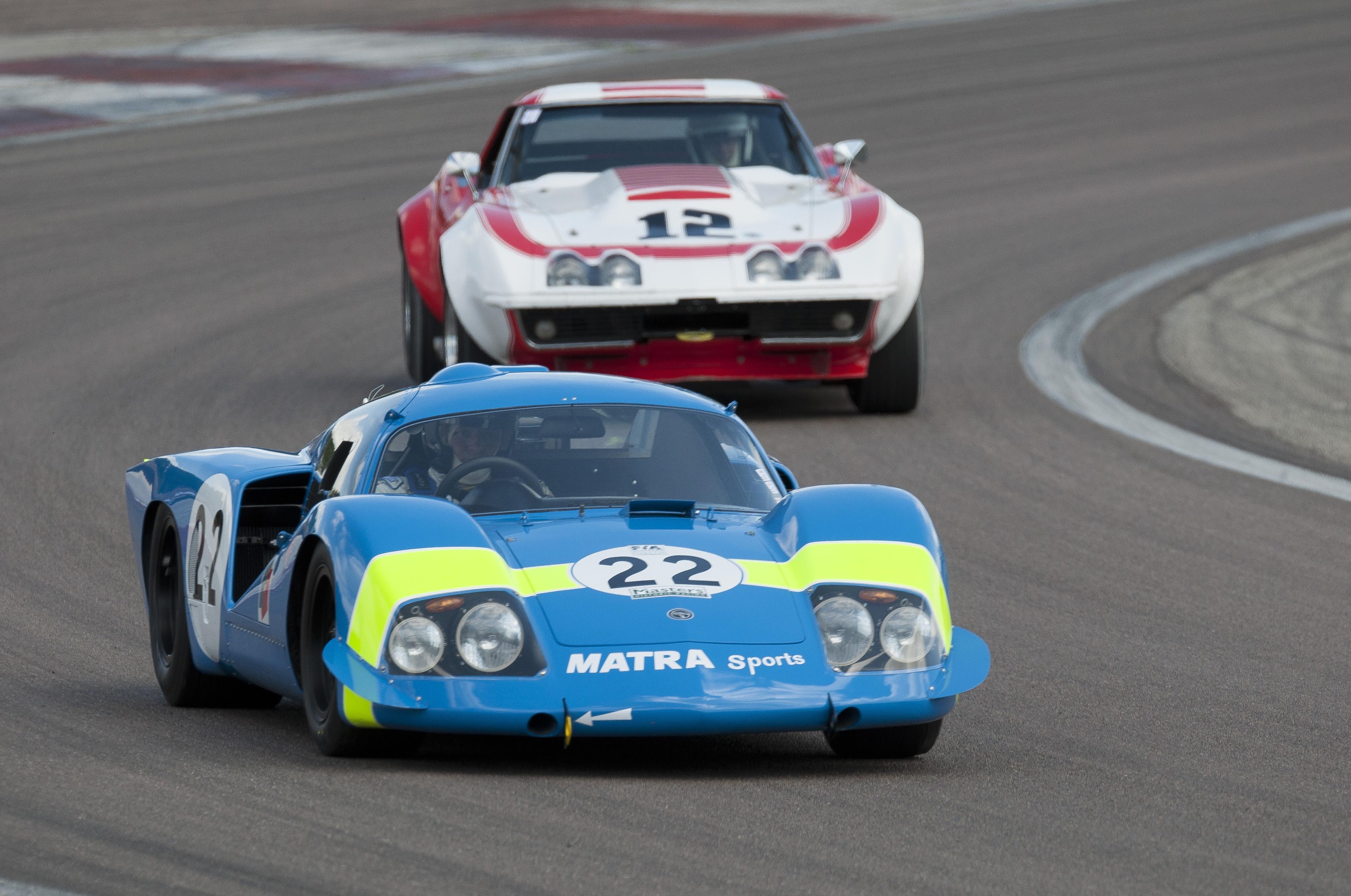 Masters Historic Championships (F1 and Sports Car) - Dijon
