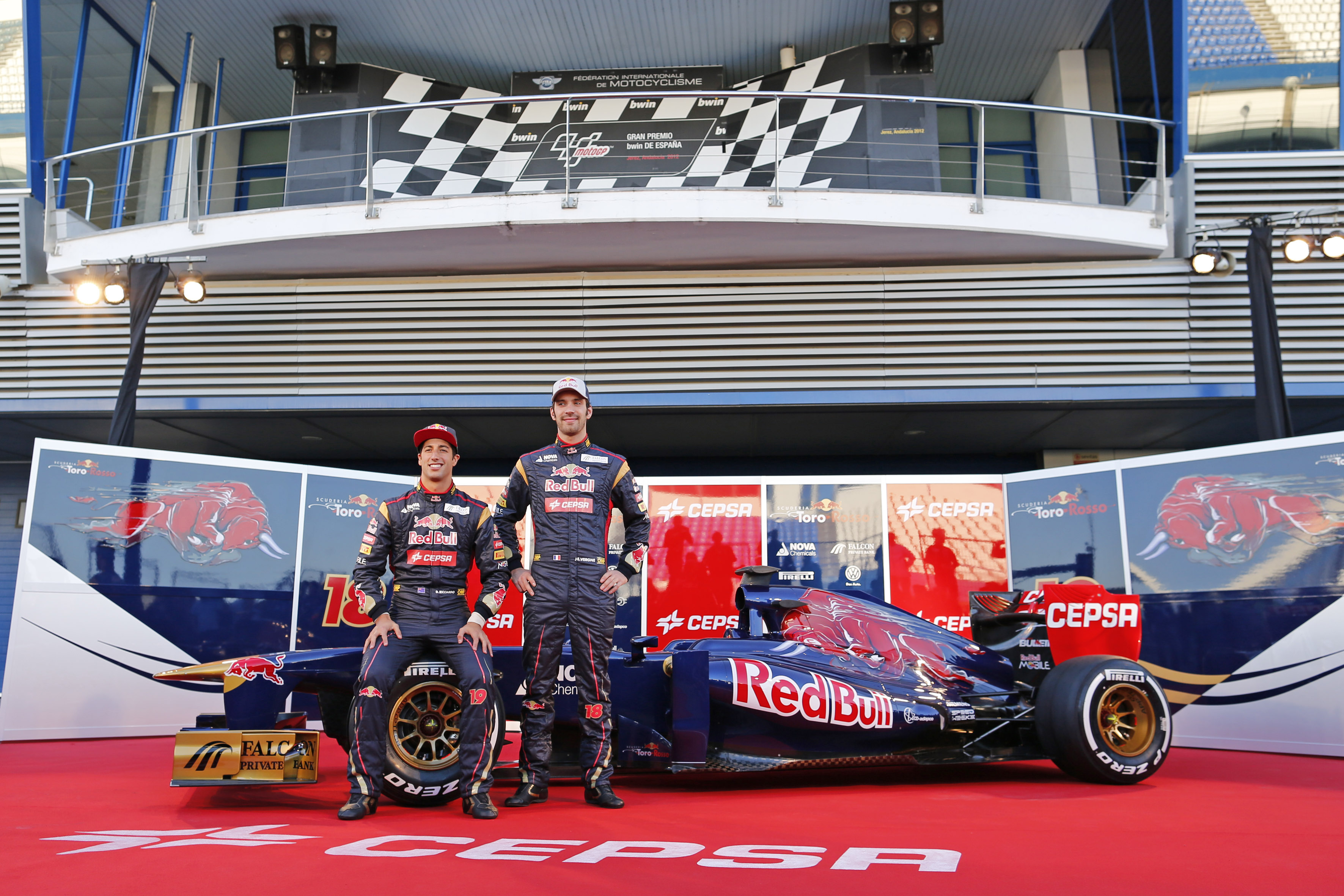 F1 2013 - New car launches