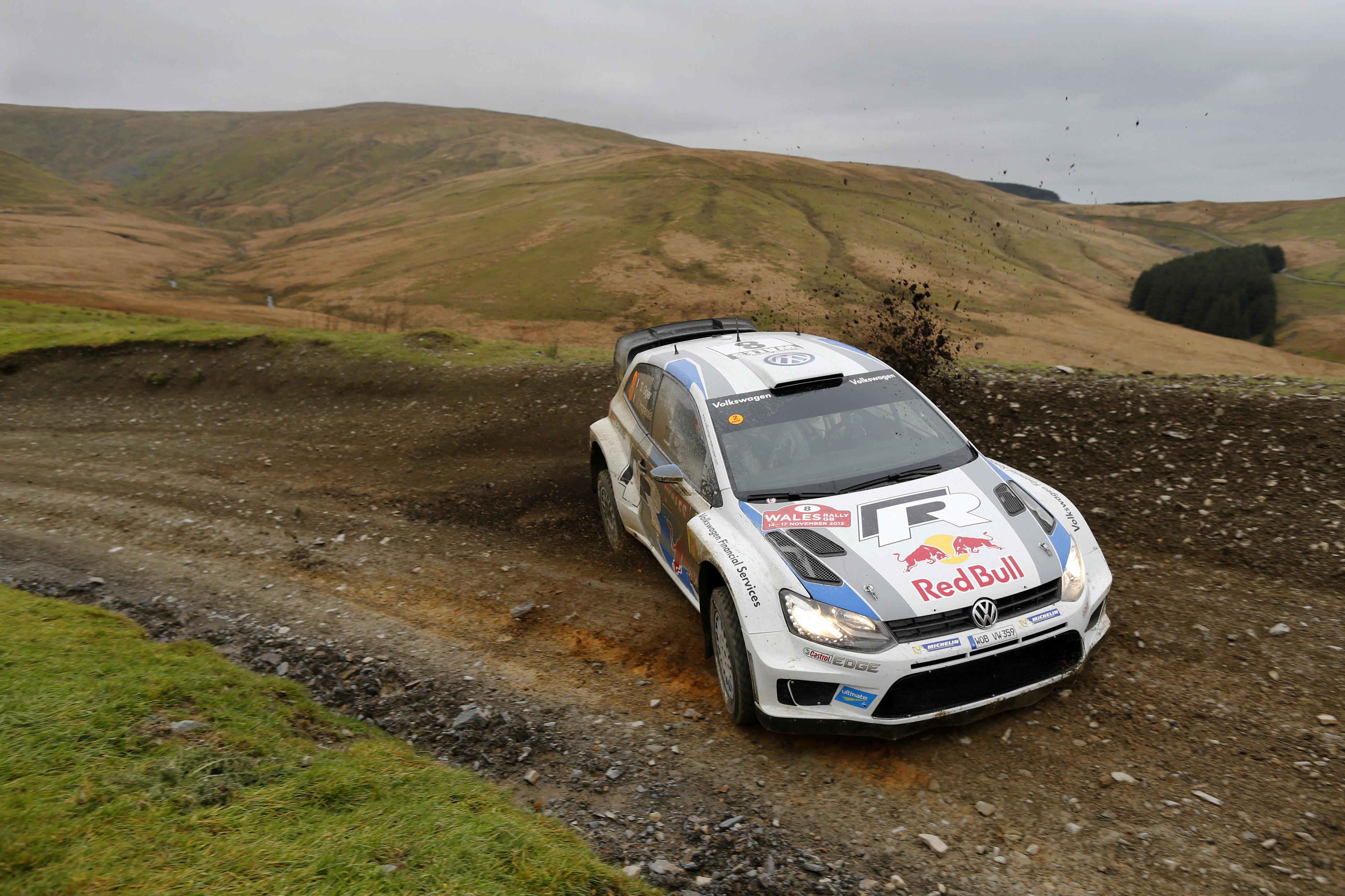 WRC 2013 - Wales Rally GB