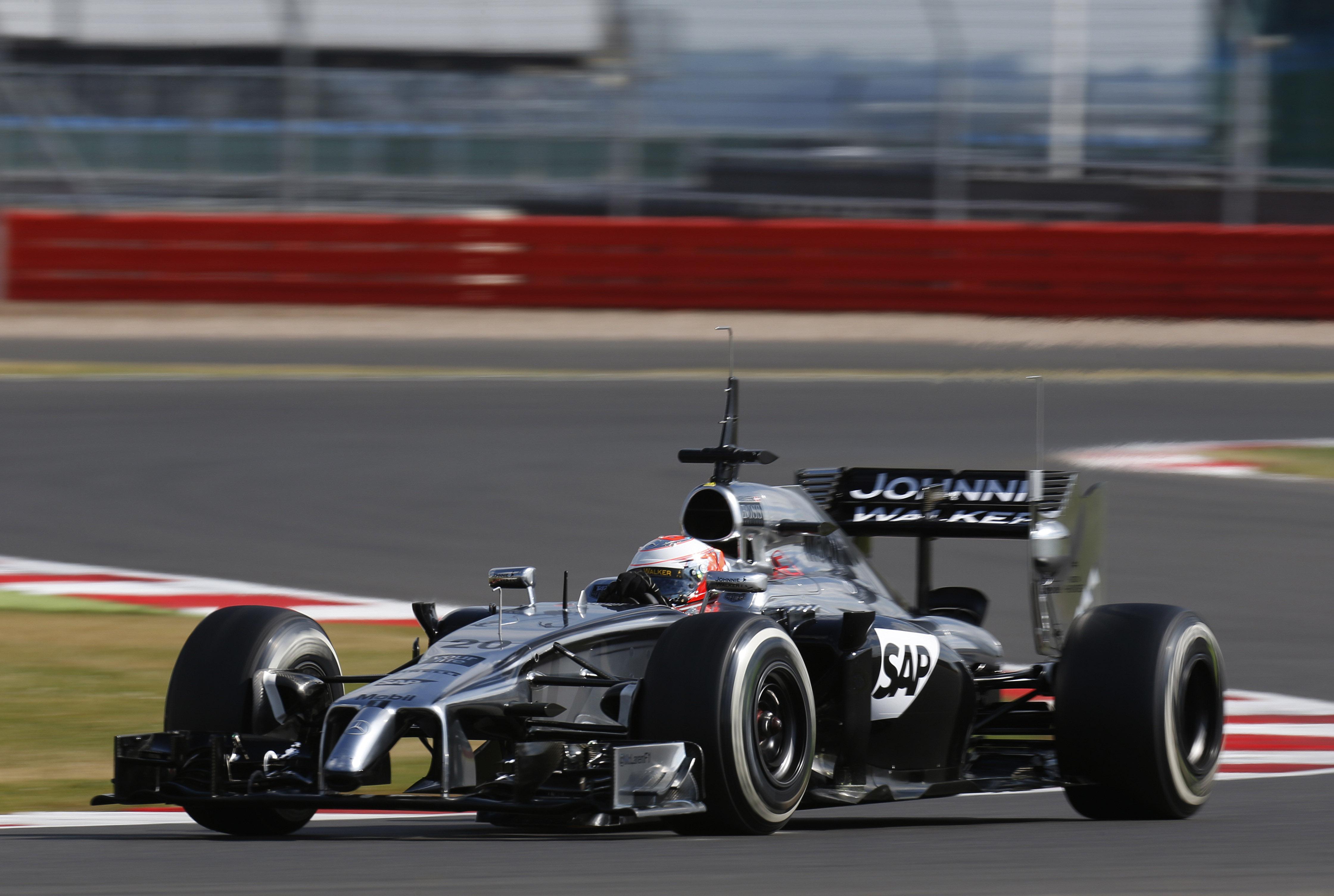 F1 2014 - Silverstone In-Season Test