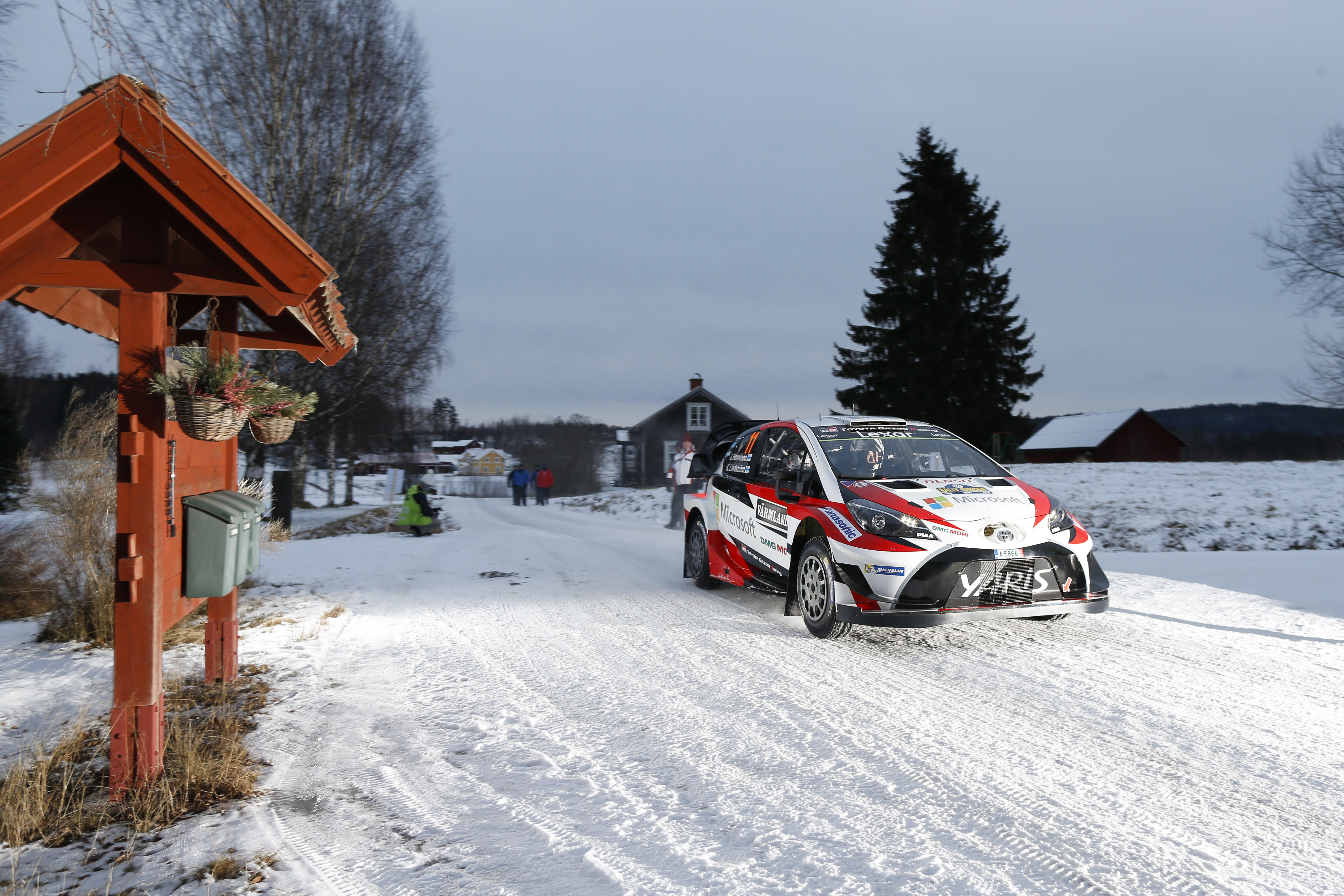 Wrc 2017 Rally Sweden Federation Internationale De L