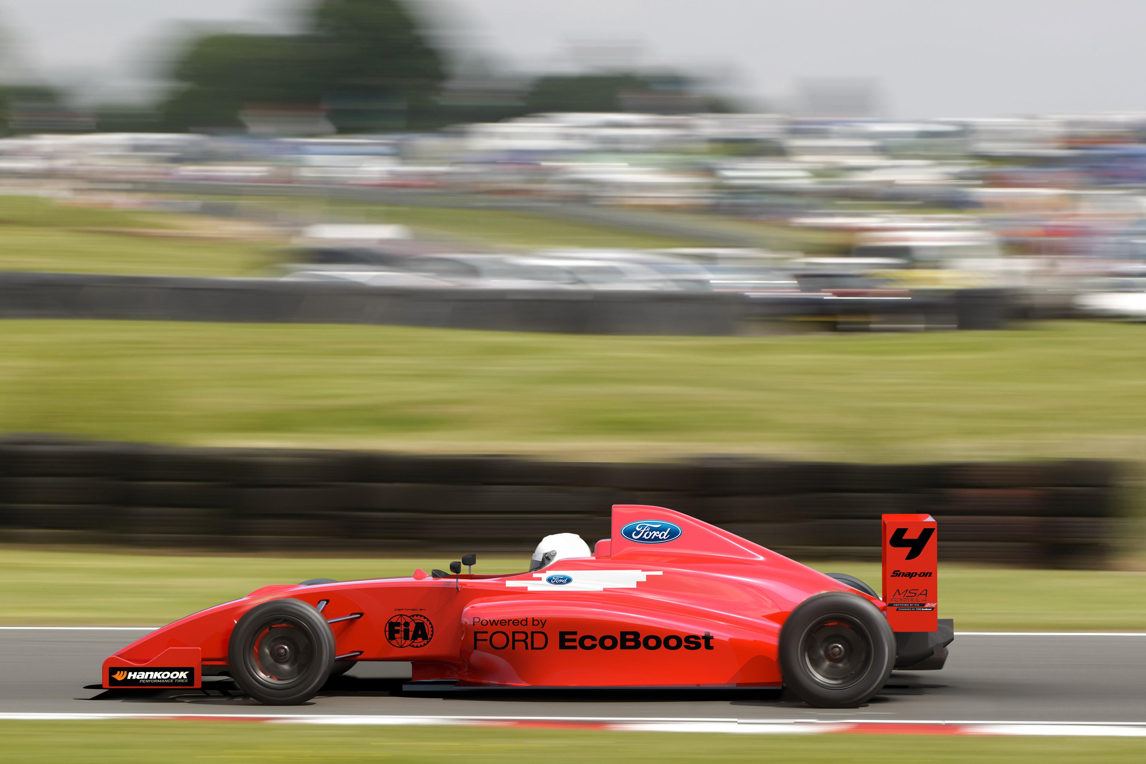 Ford and MSA Bring FIA F4 concept to Britain