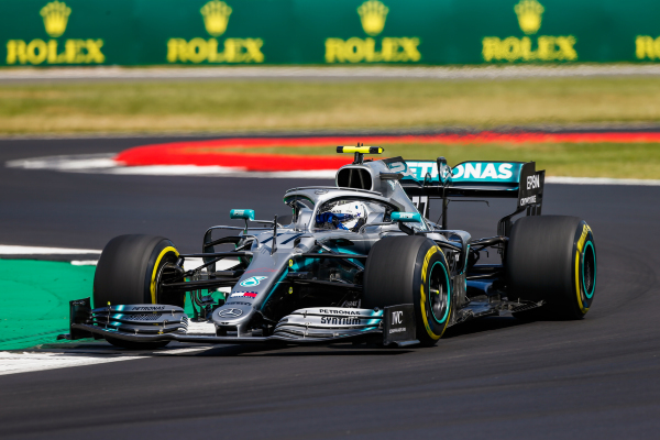 F1 – Bottas tops second practice at Silverstone