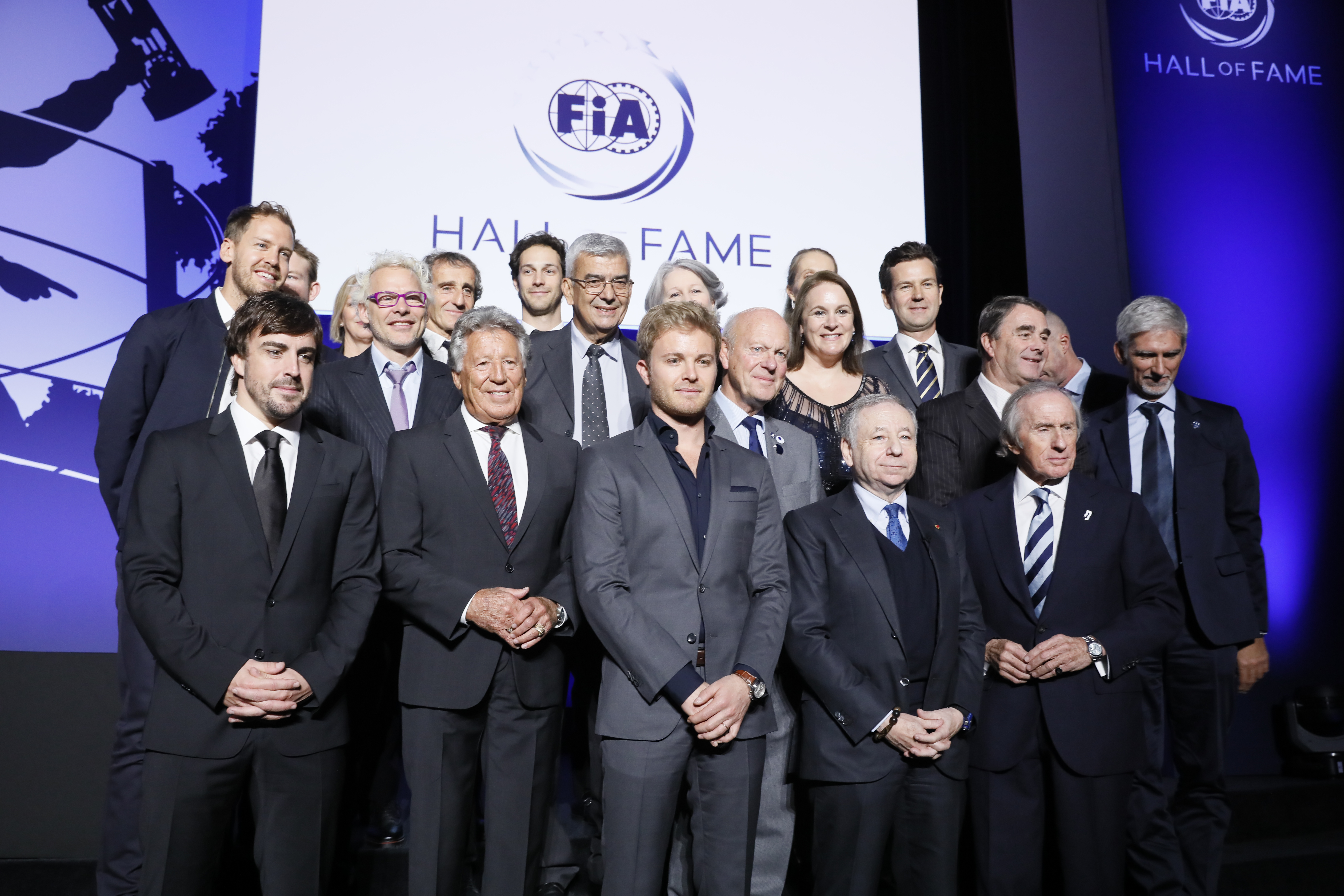 F1 Champions gather in Paris as FIA opens Hall of Fame