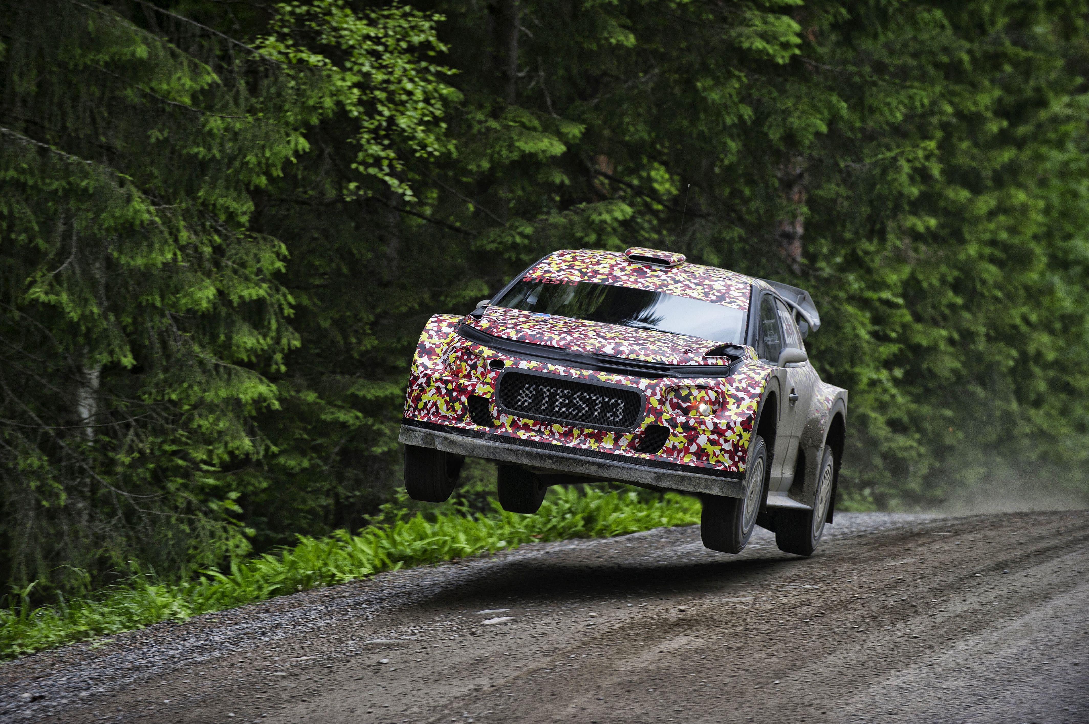 Wrc Citroen Completes 2017 World Rally Car Aero Test