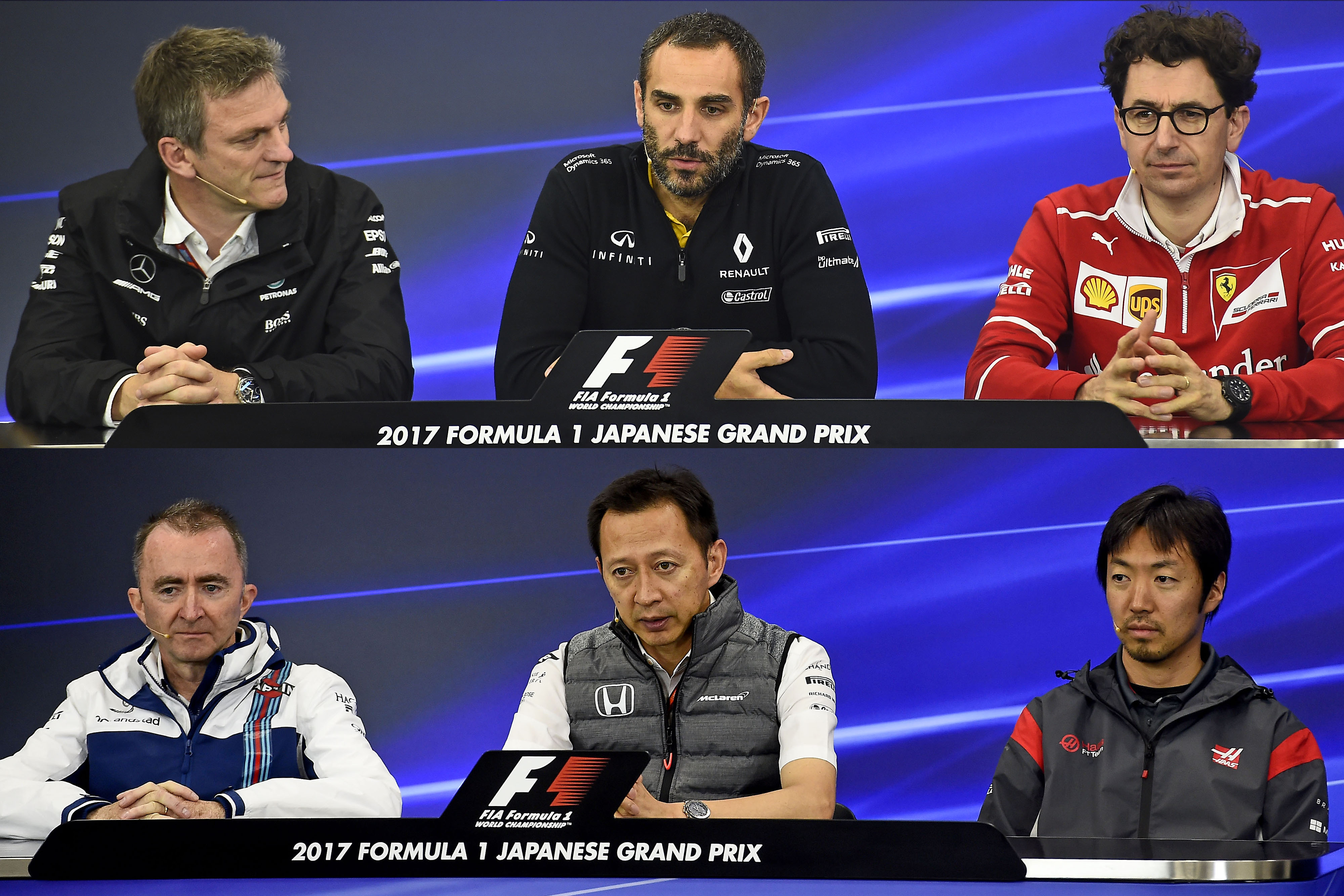 F1 Japanese GP Friday Press Conference - by Studio Colombo