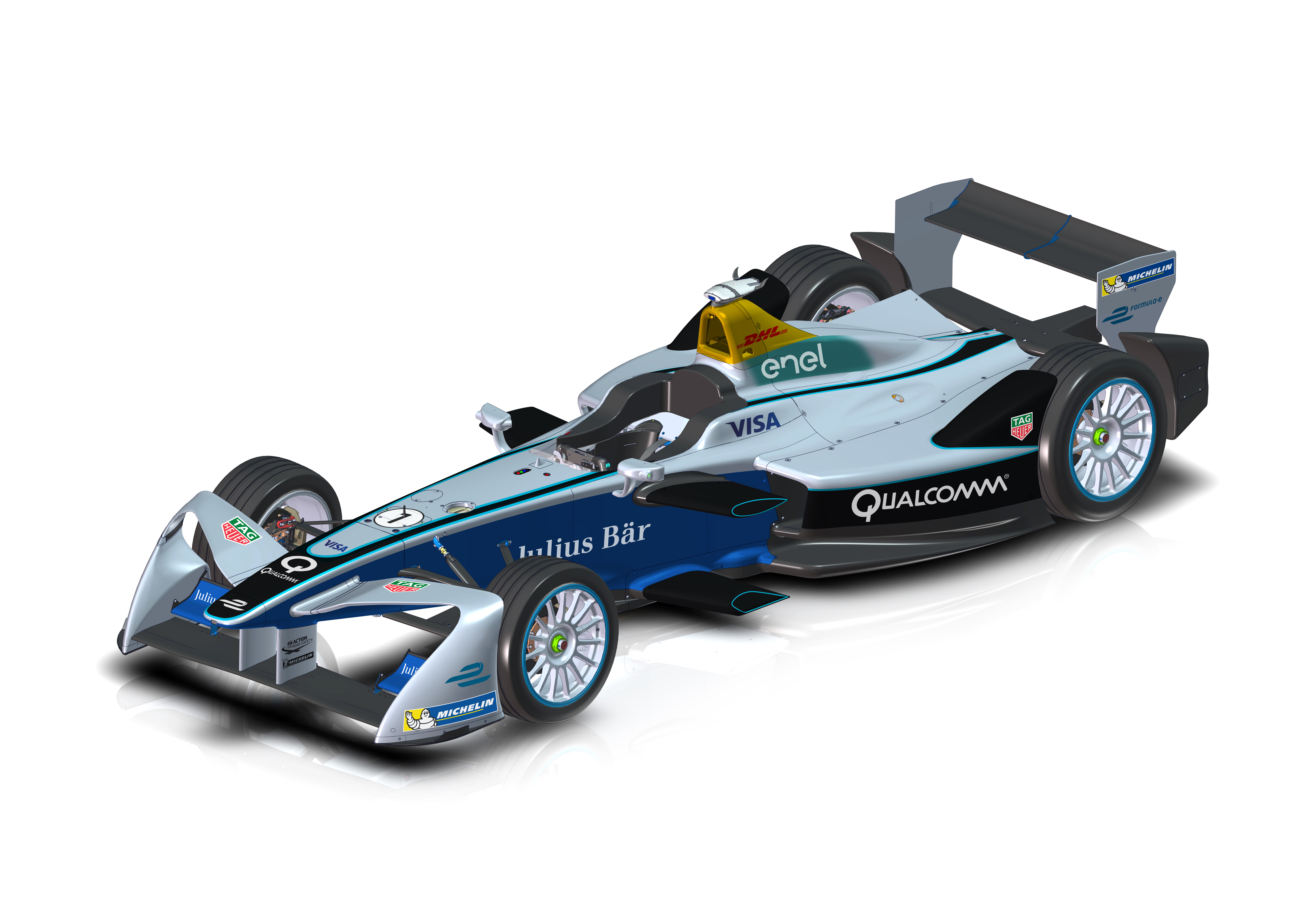 Fe bold new look for fia formula e car federation internationale de l automobile