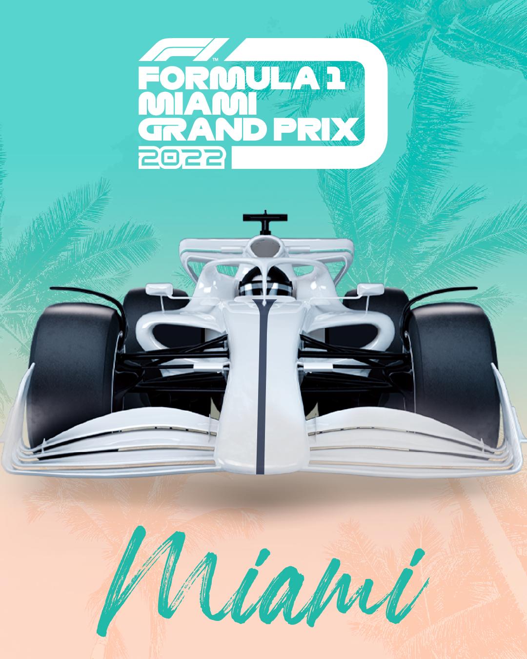 F1 Formula 1 Announces Miami Will Join The Calendar For The 2022 Season Federation Internationale De L Automobile