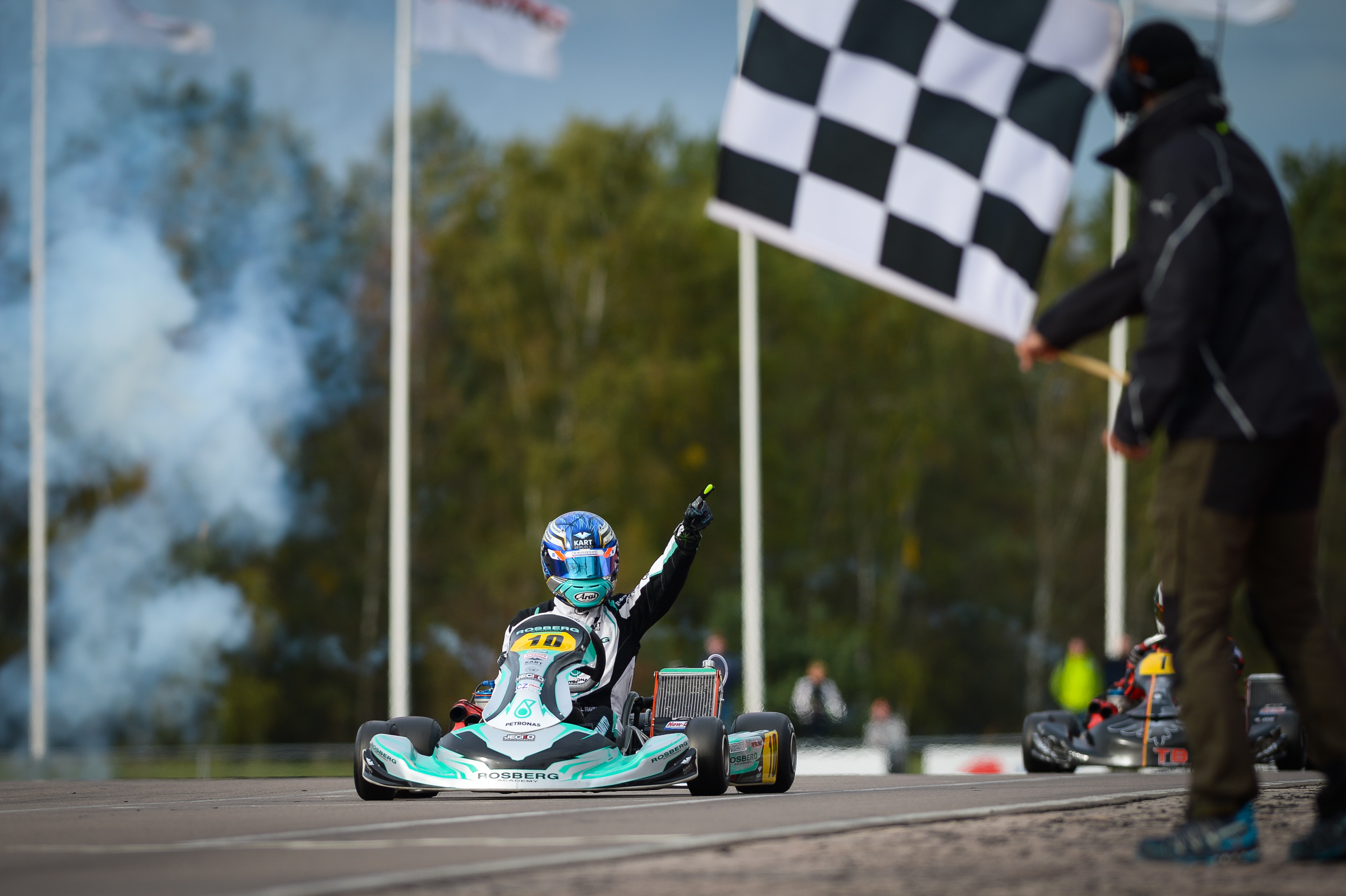 Fia Karting Rosberg Racing And Travisanutto Champions Of The World