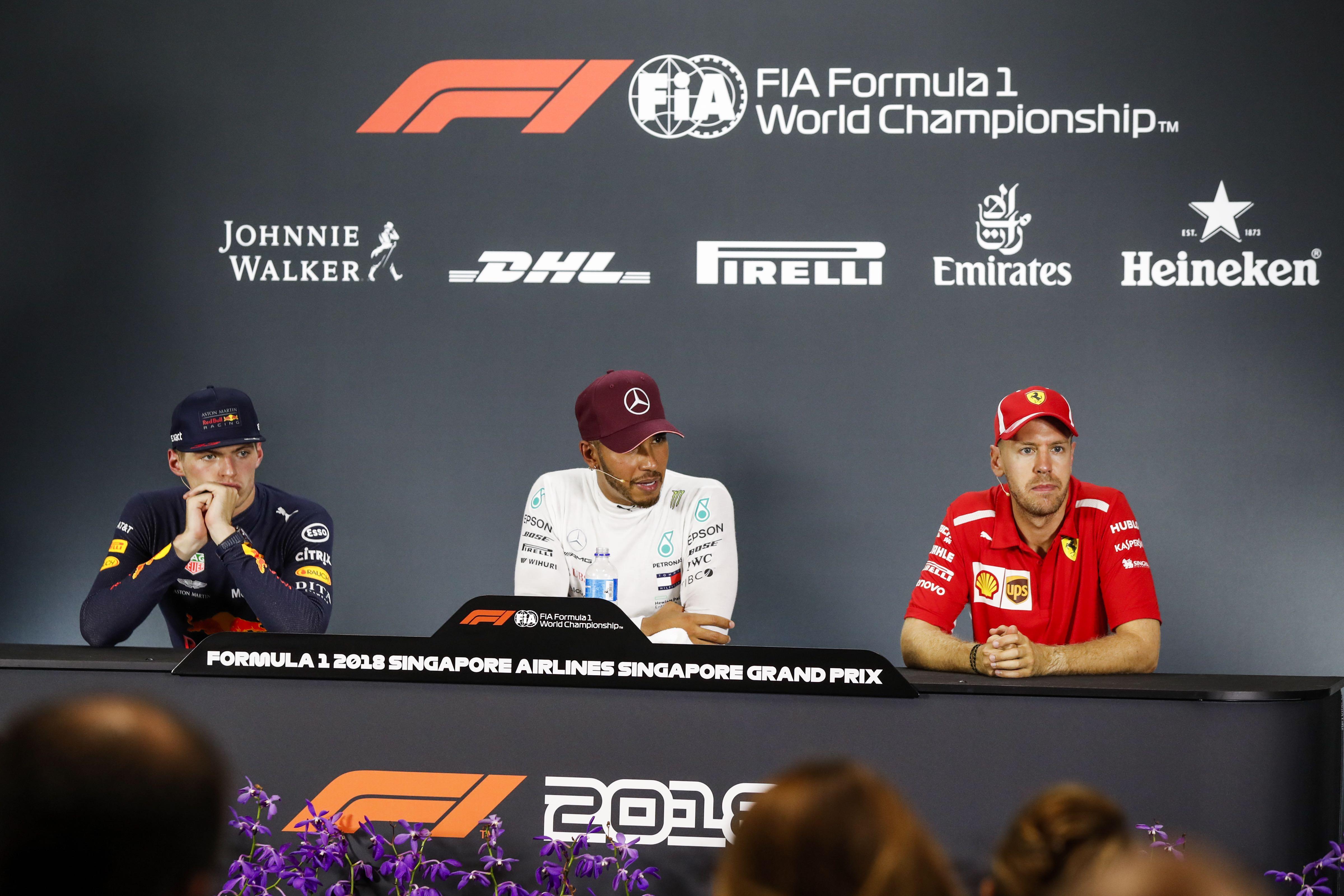 e0a578e438e F1 - 2018 Singapore Grand Prix Sunday Press Conference Transcript ...