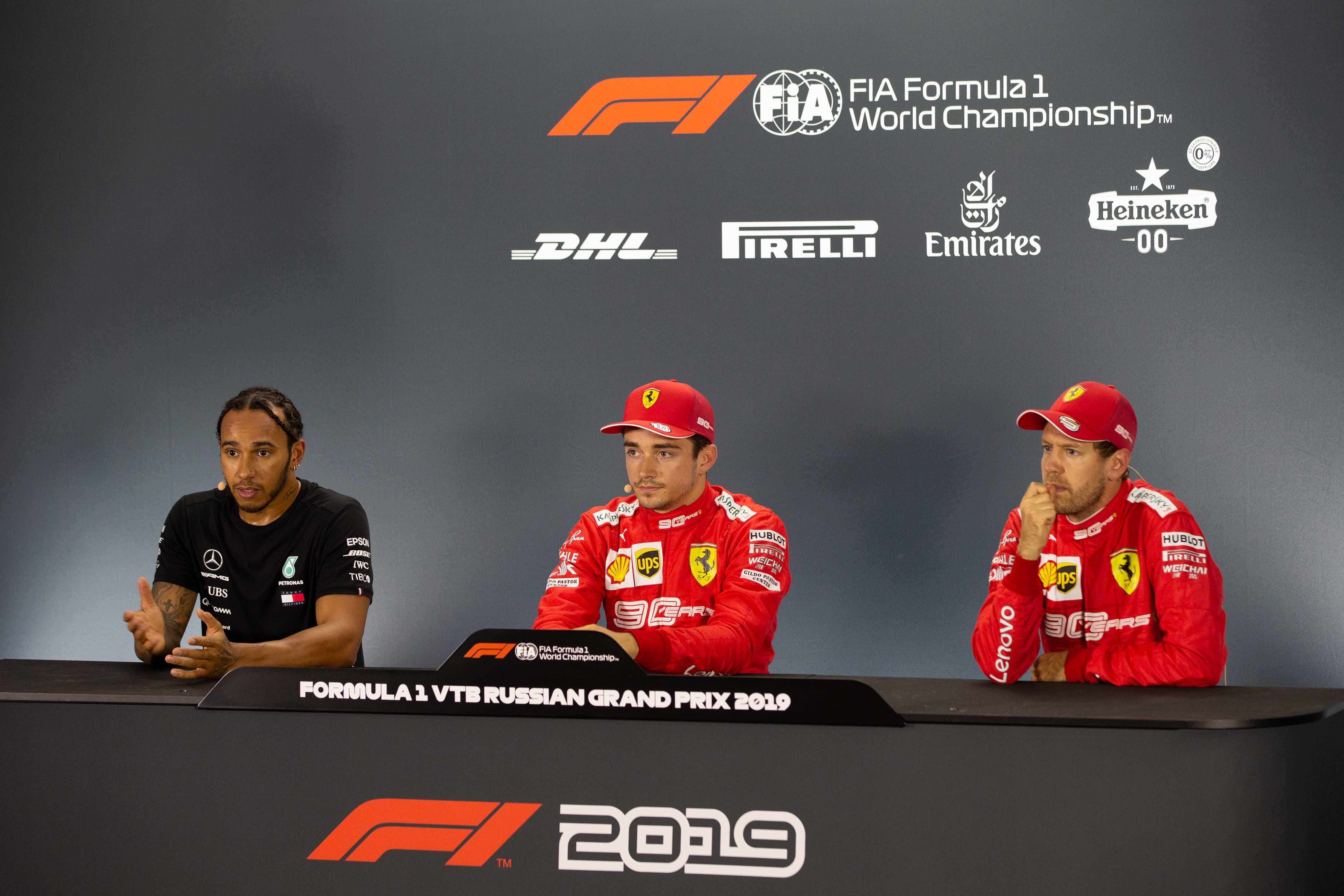 F1 2019 Russian Grand Prix Saturday Press Conference Federation Internationale De L Automobile