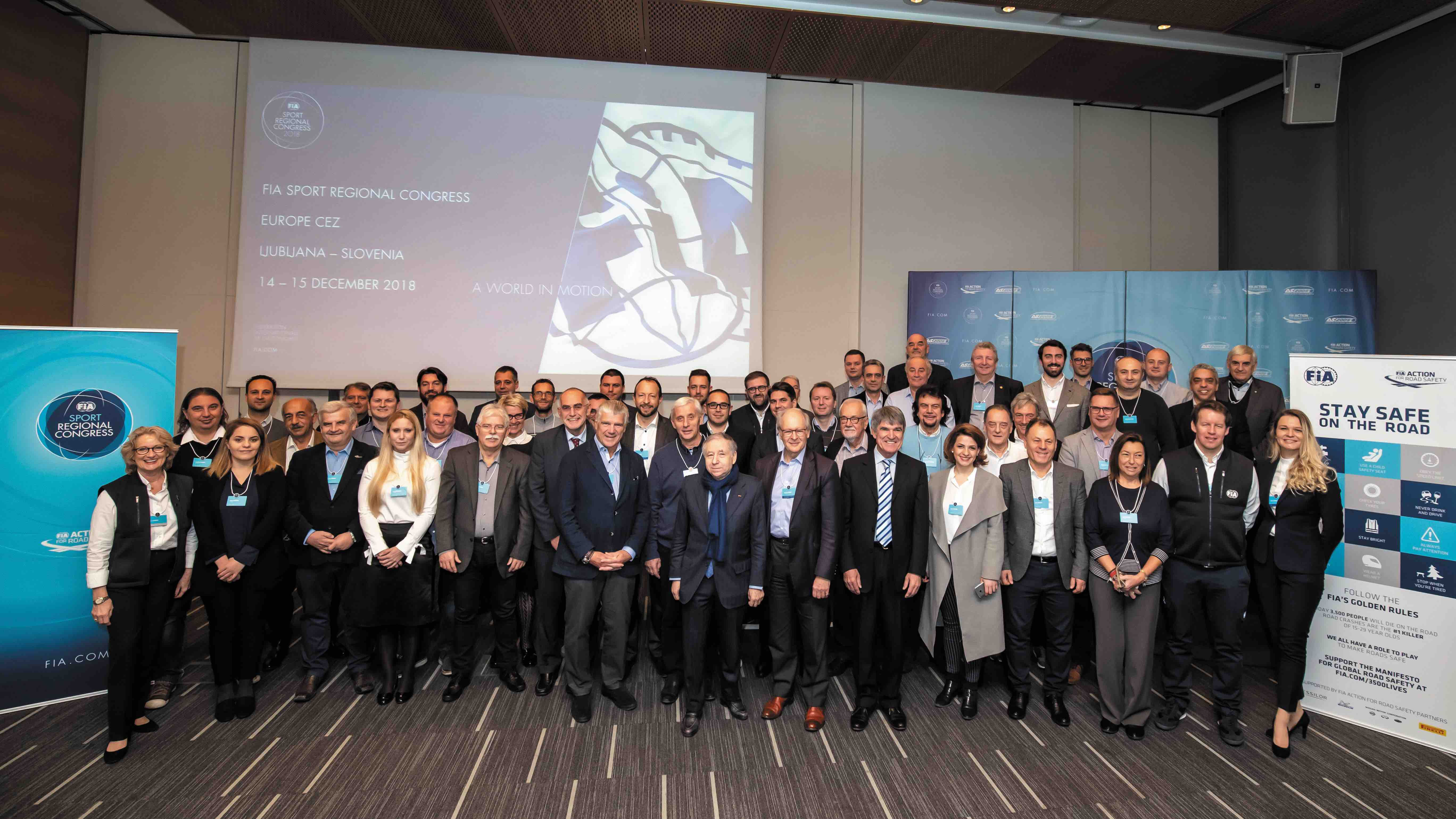 4th FIA Sport Regional Congress Central European Zone held in Slovenia