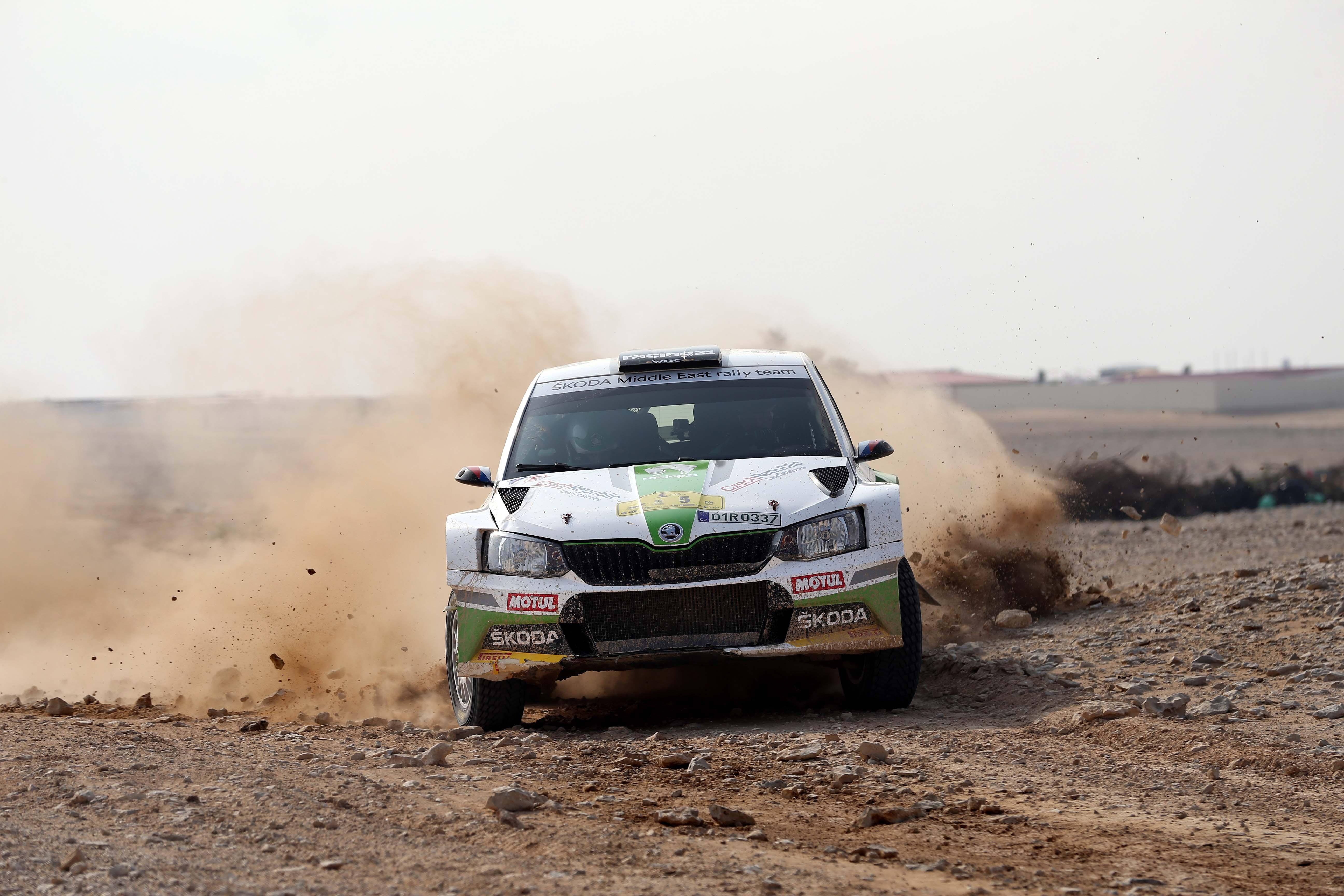 MERC - Vojtĕch Štajf becomes first non-Arab winner of Manateq International Rally of Qatar since 1986