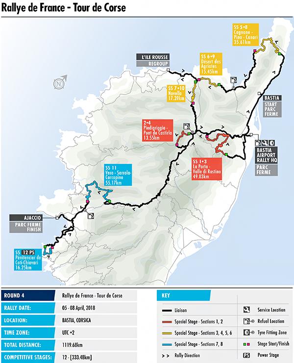 WRC - 2018 Tour de Corse - Preview | Federation Internationale de l ...