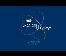 FIA Motorex Mexico Banner Logo
