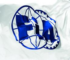 fia whithe flag