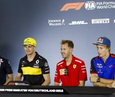 F1 Hockenheim Press Conference