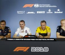 German GP Friday Press Conference Transcript