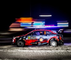 WRC Rally Sweden - SS1 - Thierry Neuville / Nicolas Gilsoul (BEL)
