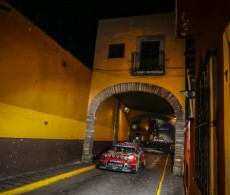 Rally Mexico 2019 - SS1, Street Stage Guanajuato - E. Lappy / J. Ferm