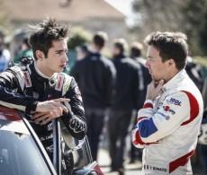Pierre-Louis Loubet (left), 2019 WRC Tour de Corse