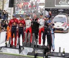 20109 Rally Chile - Final podium