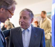 Jean Todt and Lord March FOS16