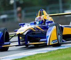 Formula E Donington Park Test