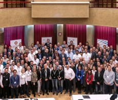 Family photo of the attendees at the 2020 Rally & Cross Country Officials Seminar in Prague