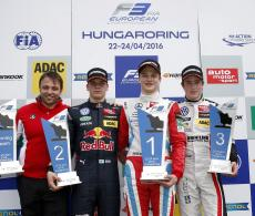 FIA F3 Hungaroring Podium