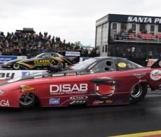 European Drag Racing Santa Pod