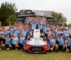 Hyundai Mobis Shell World Rally Team in Coffs Harbour, Australia