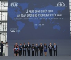 Vietnam, road safety, 3500LIVES