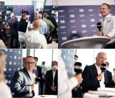 2022 WRC Hybrid Event Munich 6 September - Jona Siebel, Yves Matton, Jari-Matti Latvala, Xavier Mestelan Pinon