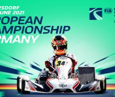 European Championship Germany karting visual
