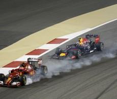 F1 Vettel Raikkonen Bahrain 2014 (Formula 1)