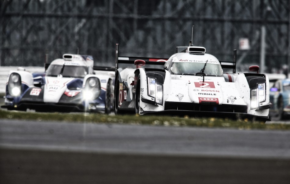 TRELUYER Benoit (FRA) Fassler Marcel (CHE) Lotterer andre (GER) Audi R18 ETron Quattro Lmp1 H Team Audi Sport Joest ,2014 FIA WEC 6 Hours of Silverstone