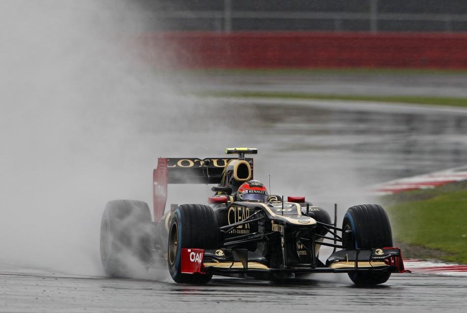 Romain Grosjean - Silverstone GP
