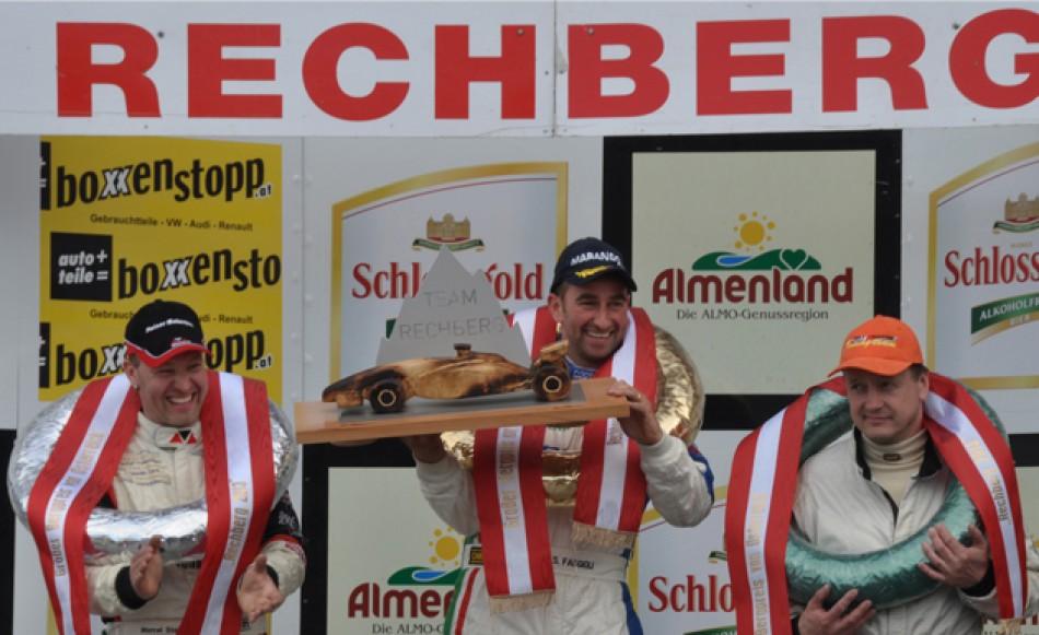 Rechberg podium