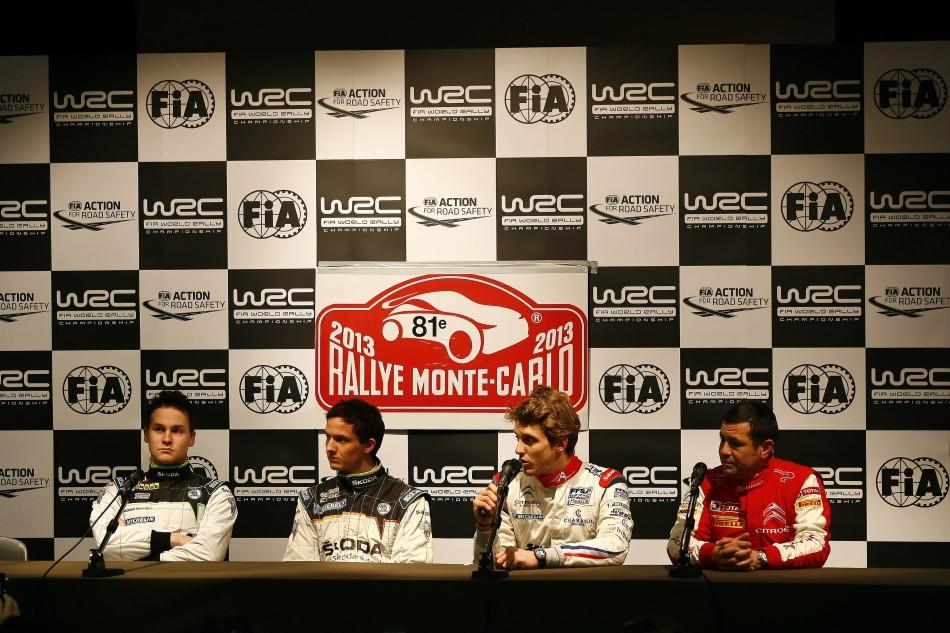 Rallye Monte-Carlo 2013 - Pre-Event Press Conference