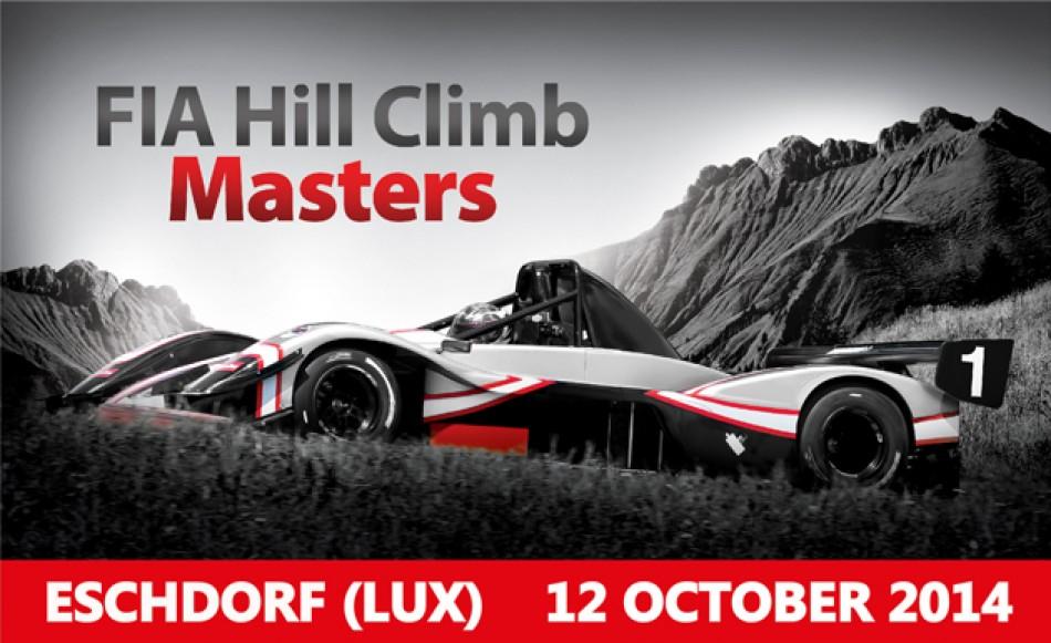 FIA Hill Climb Masters - Eschdorf 2014