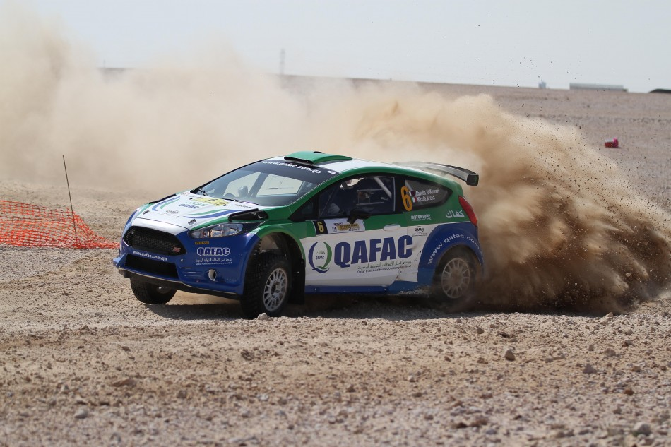 Qatar's Abdulla Al-Kuwari is heading to Kuwait with his Italian co-driver Nicola Arena and a Ford Fiesta R5