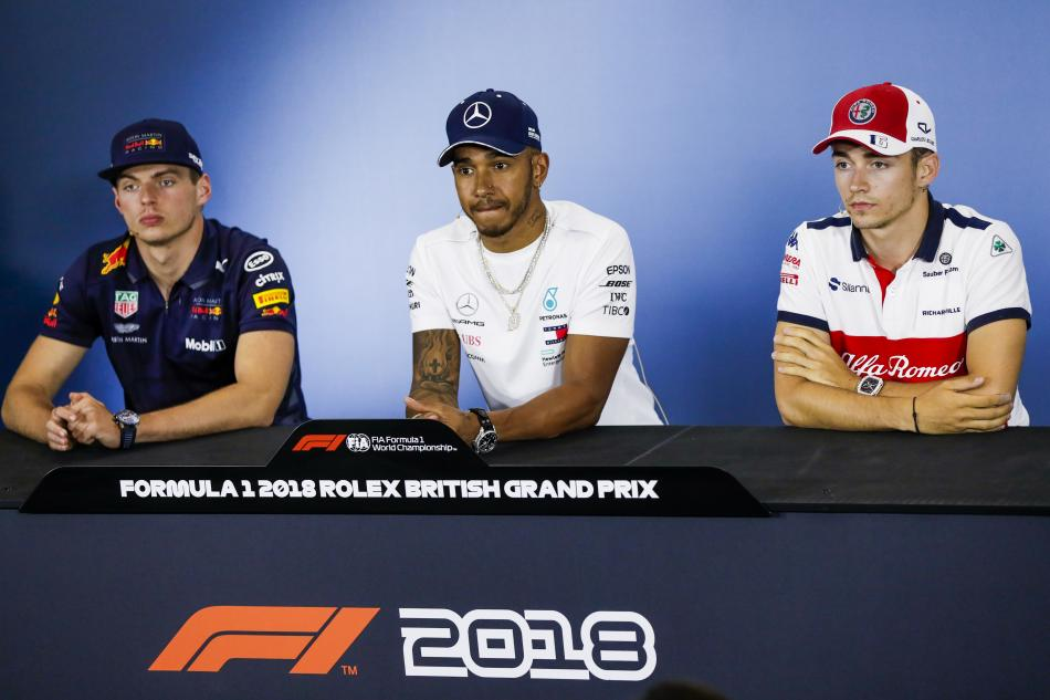 F1 British GP Thursday Press conference Transcript
