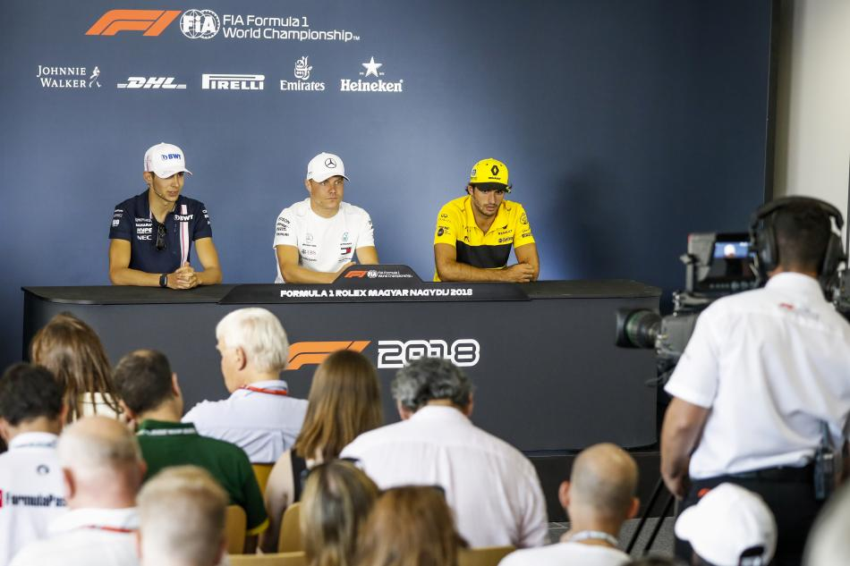 F1 - 2018 Hungarian Grand Prix Friday Press Conference