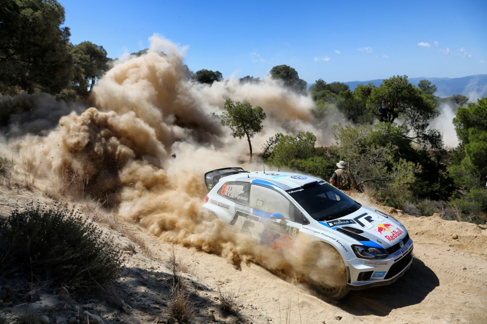 2013 WRC - Acropolis Rally - S. Ogier/J. Ingrassia, VW Polo (DPPI)