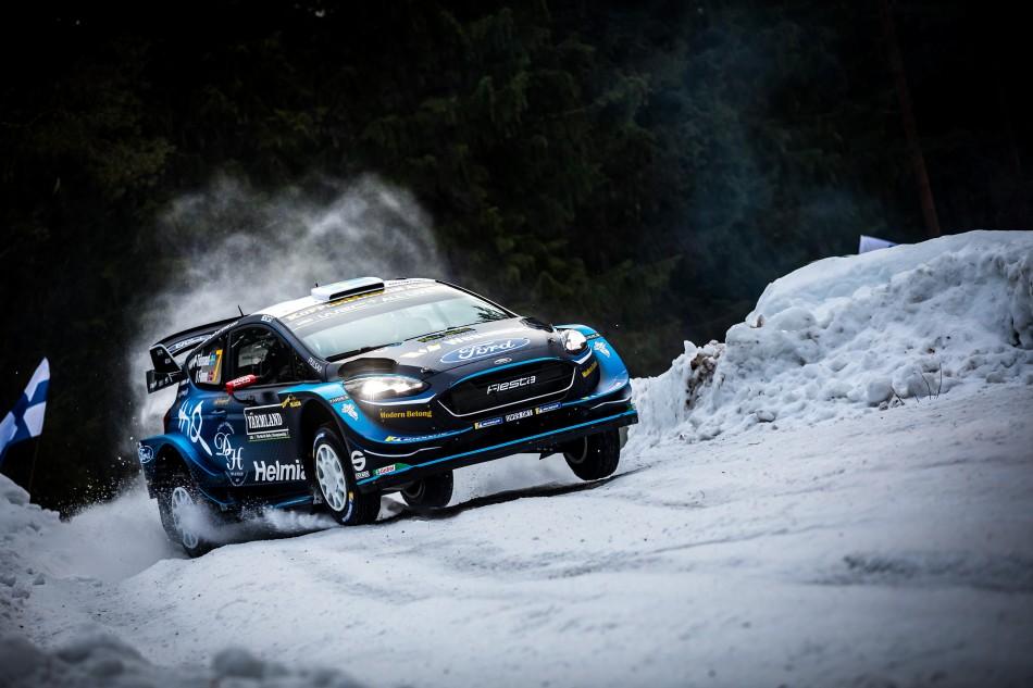 FIA WRC Rally Sweden - Pontus Tidemand (SWE) / Ola Floene (NOR)