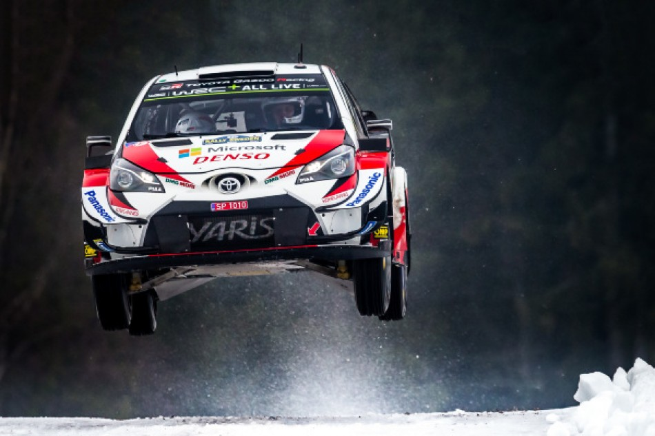 Rally Sweden - Ott Tänak / Martin Järveoja