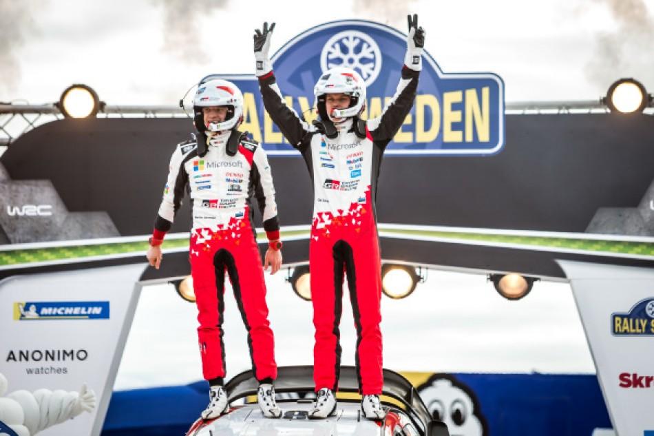 Rally Sweden - Event winners Ott Tänak & Martin Järveoja