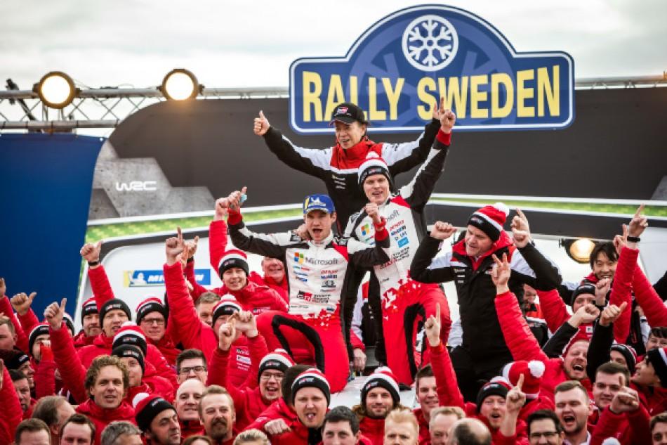 Rally Sweden - Ott Tänak, Martin Järveoja & the Toyota Gazoo Racing WRT team
